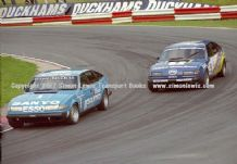 ROVER SD1 s JEFF ALLAM and RAD DOUGAL  Brands Hatch BTCC 1982